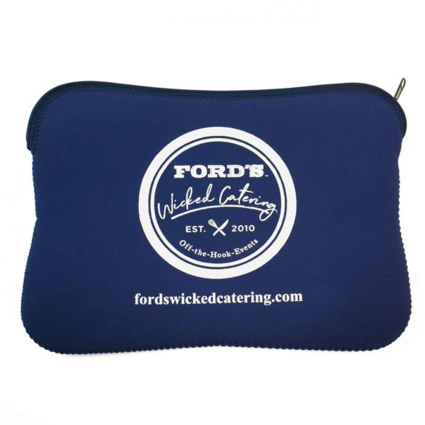 Back of Ford's Fish Shack Laptop Sleeve