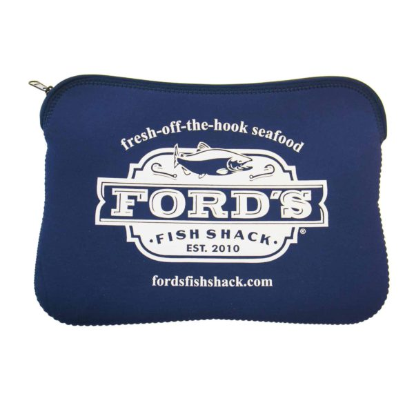 Front of Ford's Fish Shack Laptop Sleeve