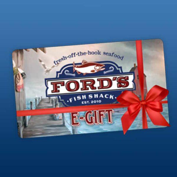 Ford's Fish Shack Virtual Gift Card Sample