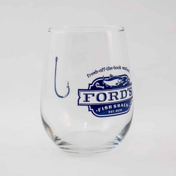 Ford's Fish Shack Wine Glass