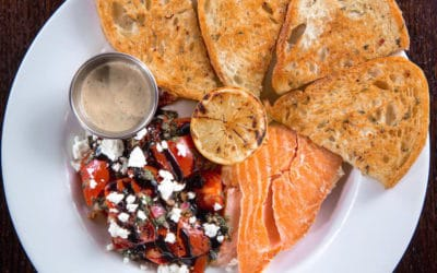 Tenth Day of Ford's Favorites – Smoked Salmon Bruschetta